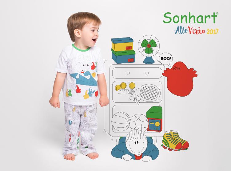 af71ccc2845f58 Nova coleção da Sonhart auxilia os pais a lidarem com os medos ...